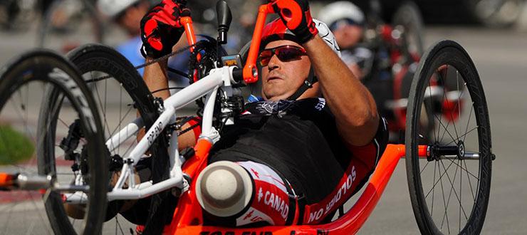 YIMC main Mike Trauner handcycle