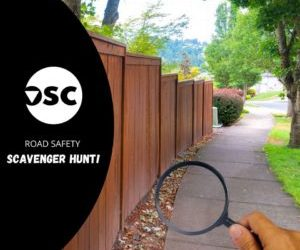 Road Safety Scavenger Hunt