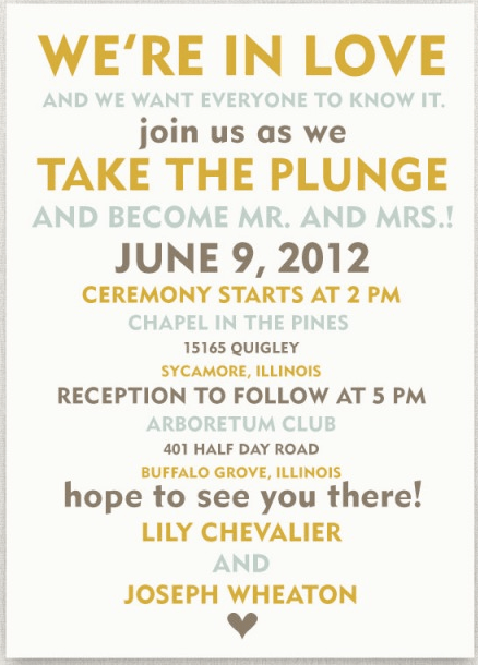 Kingston Wedding Planner Blog Archive Invitation