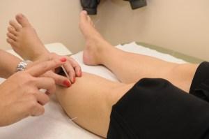 acupuncture leg