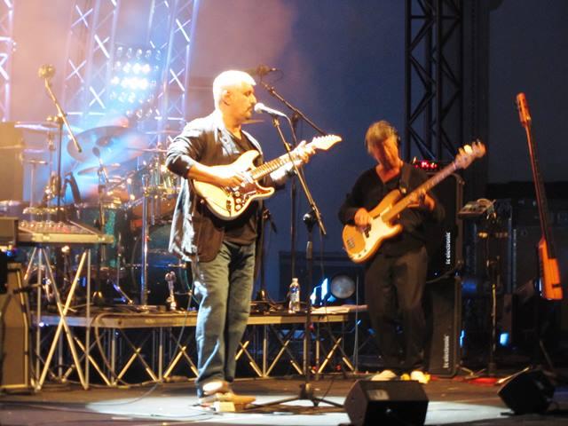 Pino Daniele, concerto Ruderi Cirella (Cs), estate 2010