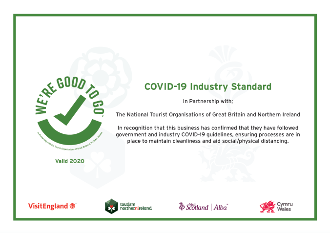 Covid -19 Otterburn follows government and industry Covid_19 guidelines, ensuring cleanliness and aid social distancing