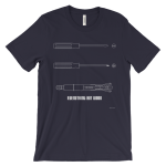 Sonic Screwdriver Navy T-shirt