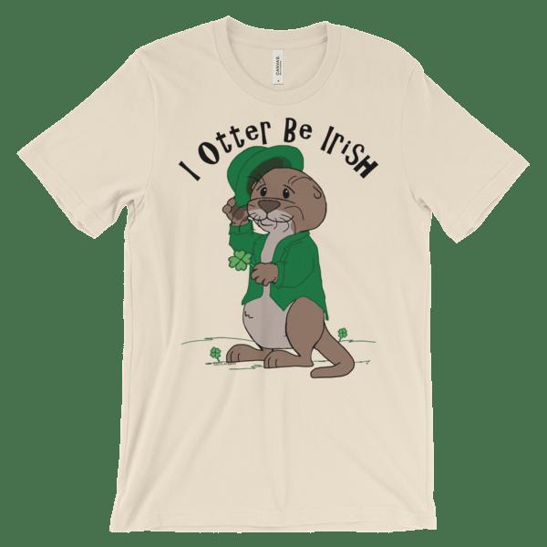 I Otter Be Irish Soft Cream T-shirt