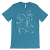 Otters Swimming Aqua T-shirt