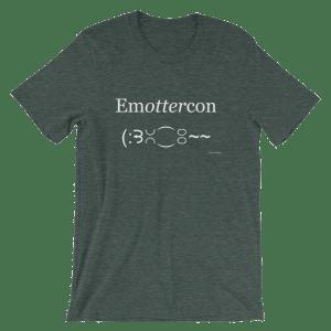 Emottercon Heather Forest T-shirt