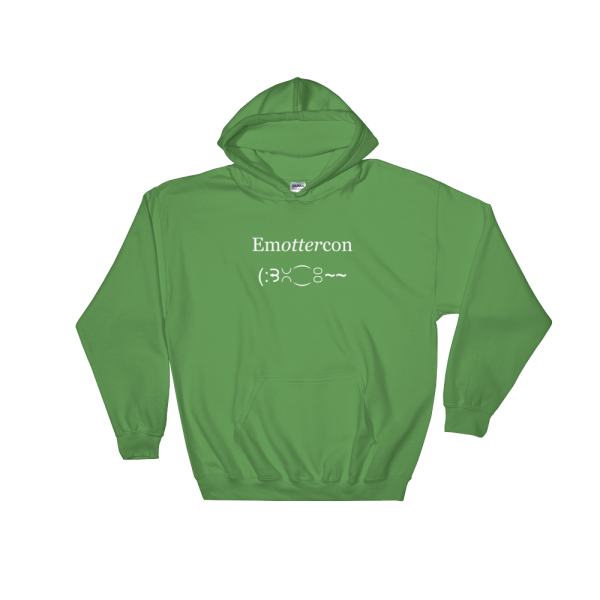 EmOTTERcon Irish Green Hoodie