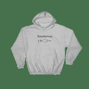 EmOTTERcon Sport Grey Hoodie