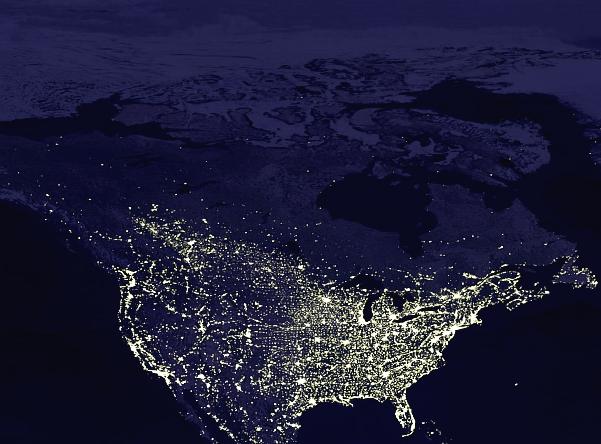 Map America Light North