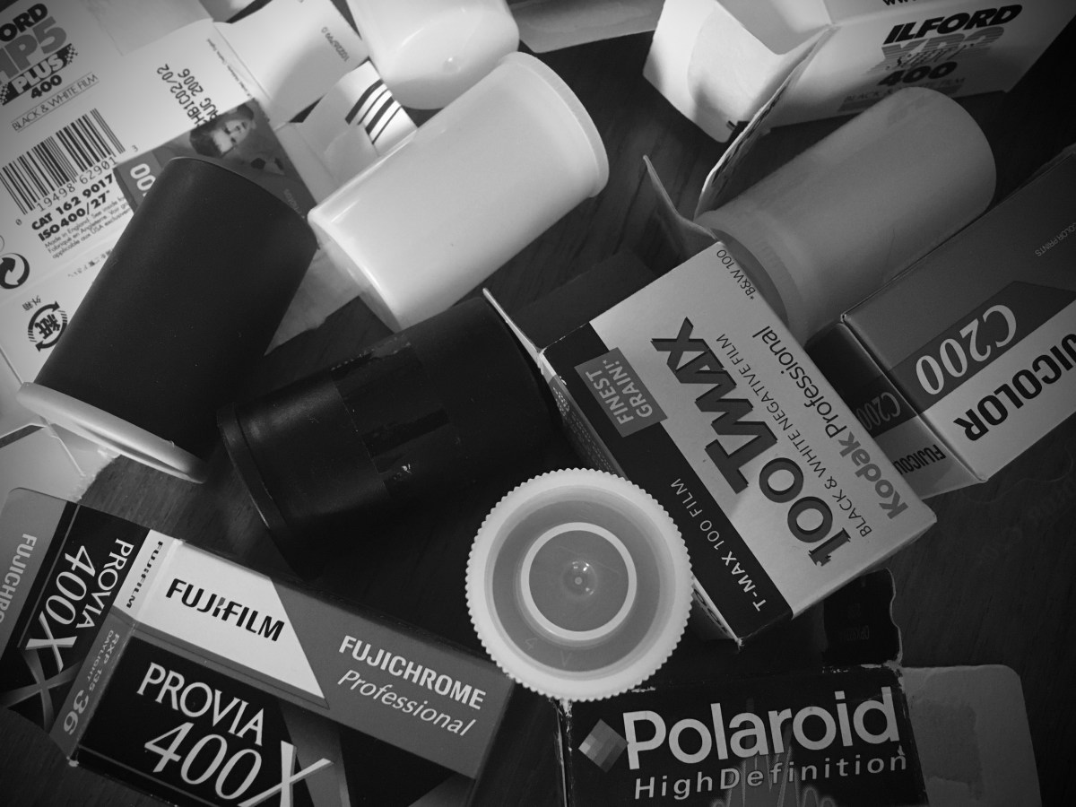 52 Rolls project, one roll of film for 52 weeks