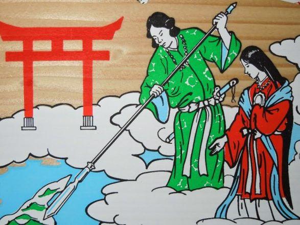 JapanTime] Il mito della creazione del Giappone
