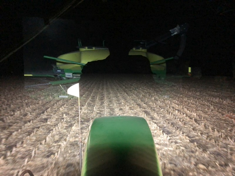 Night seeding