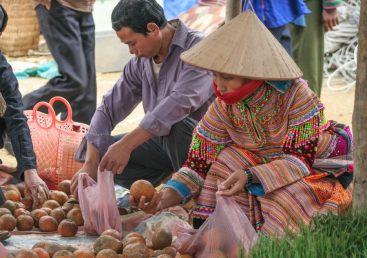 Produce Bac Ha Sunday Market Northern Vietnam