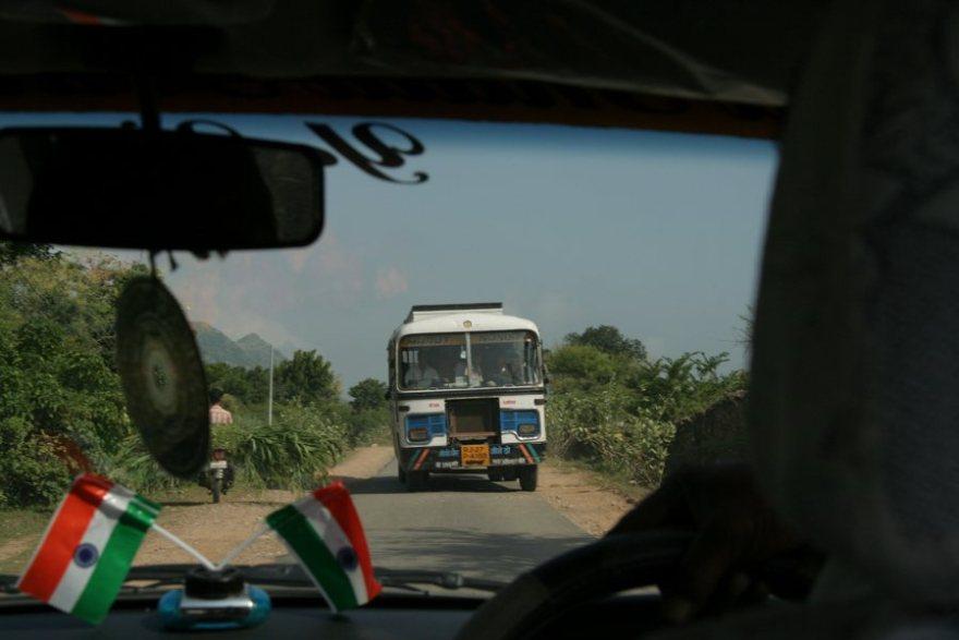 beware of buses in india