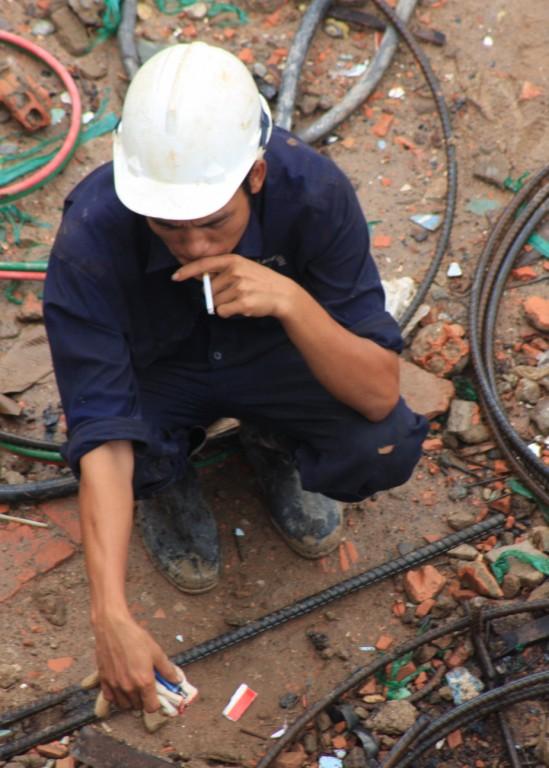 Vietnam culture shock construction