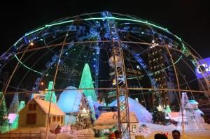 Heinekin Snow Globe