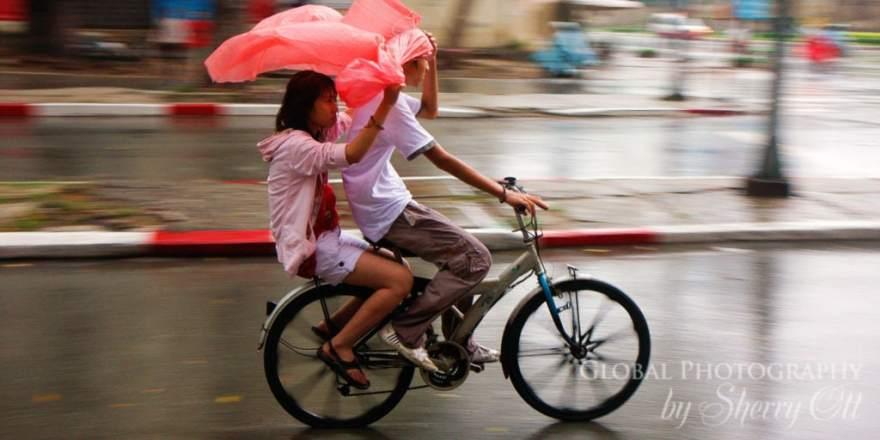 Vietnam rain