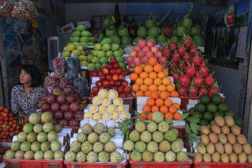 HItting the fruit jackpot!