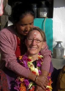 Didi - my big sister in Nepal