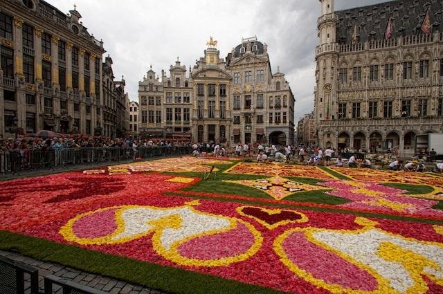 A month in Belgium