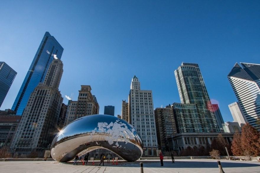 chicago bean cloudgate