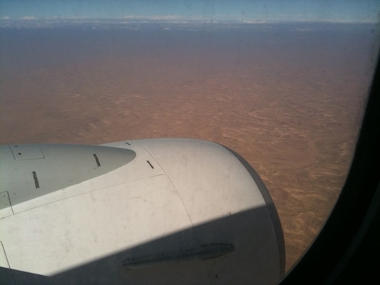 ariel view jordan