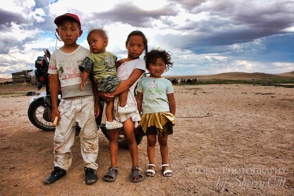 Mongolia Children