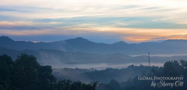 kandy sunrise sri Lanka