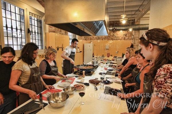 Cooking class Barcelona