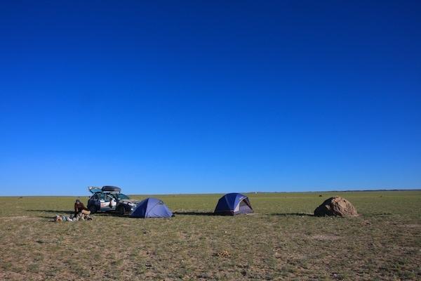 gobi desert camping