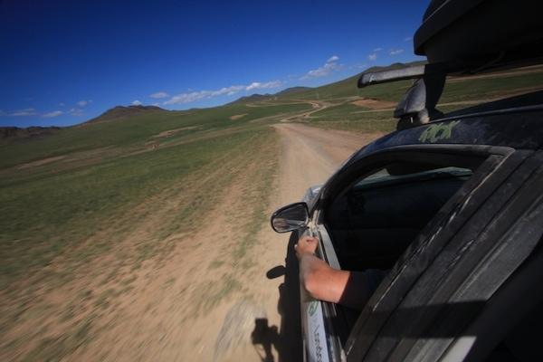 driving mongolia