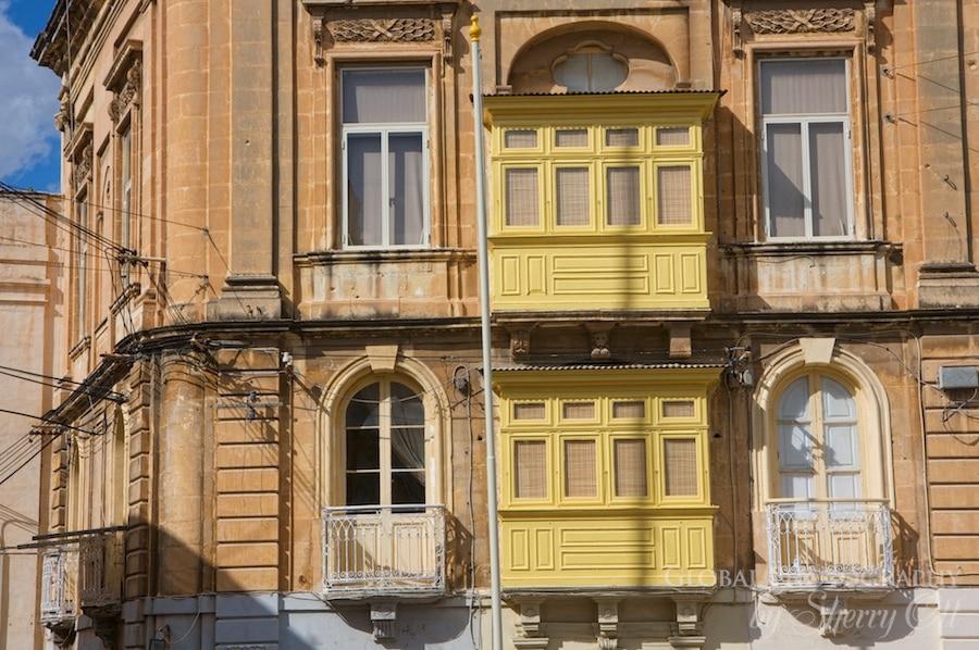wooden enclosed balcony malta
