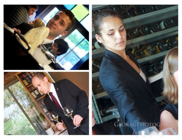 wait staff at celler de can roca