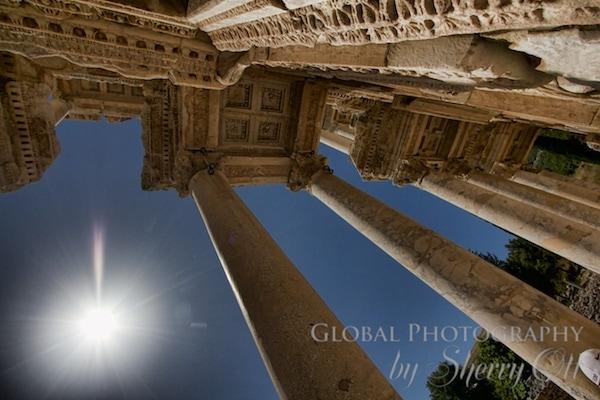 Ephesus library columns