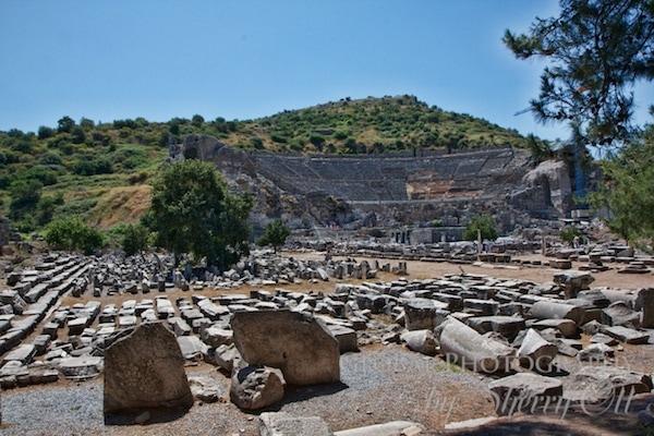The theater of Ephesus