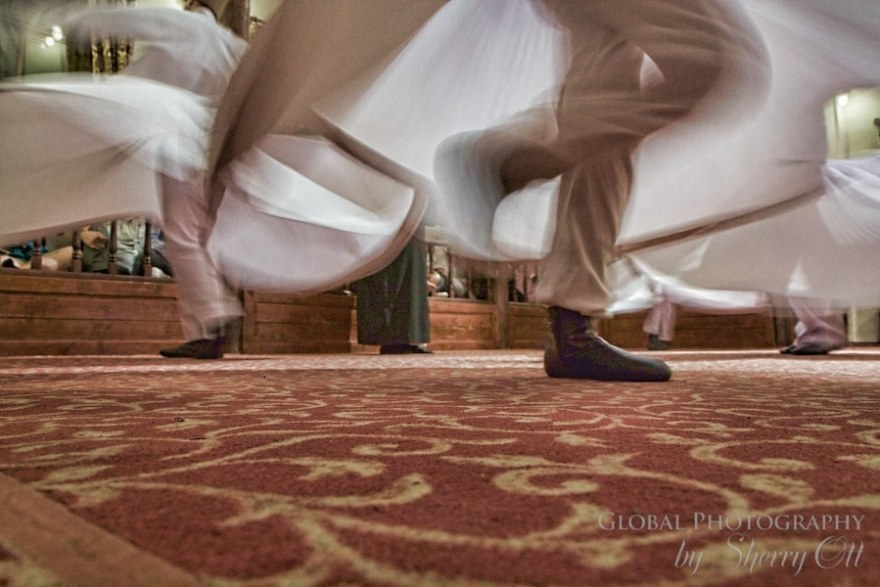 whirling dervish footwork