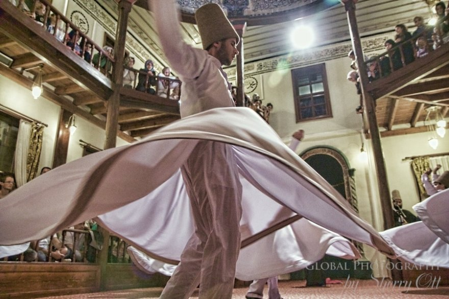 whirling dervish bursa turkey