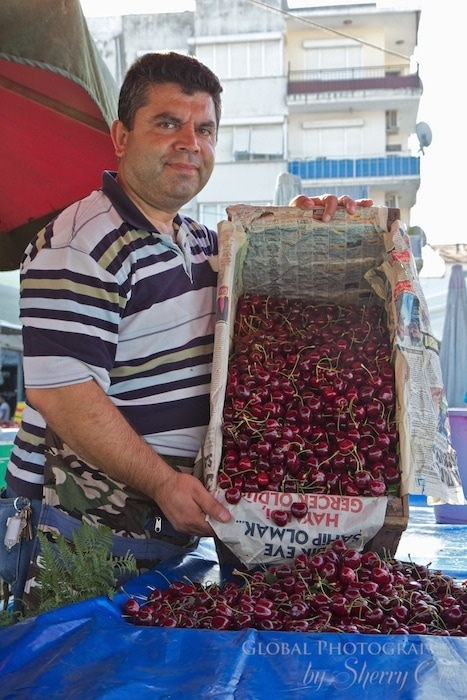 Cherries were in season when I was in Turkey