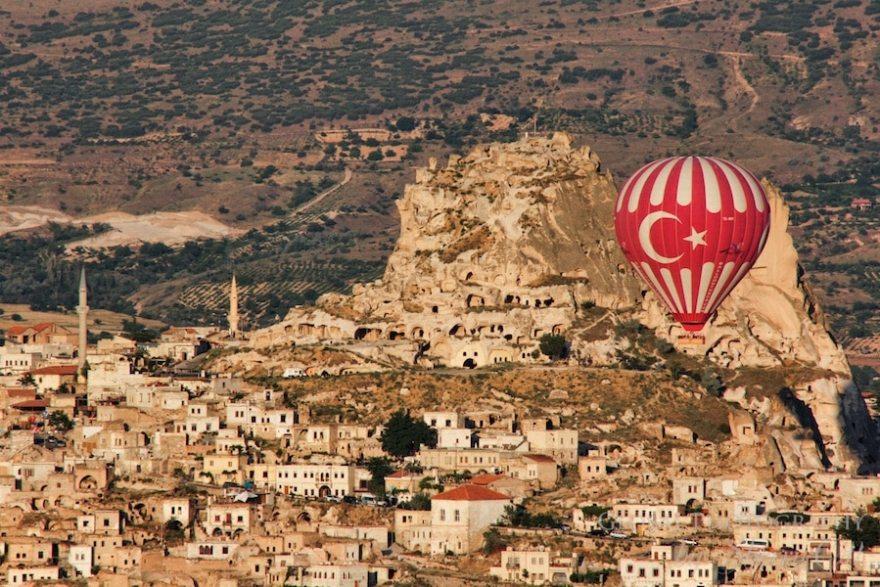 Turkish hot air balloon