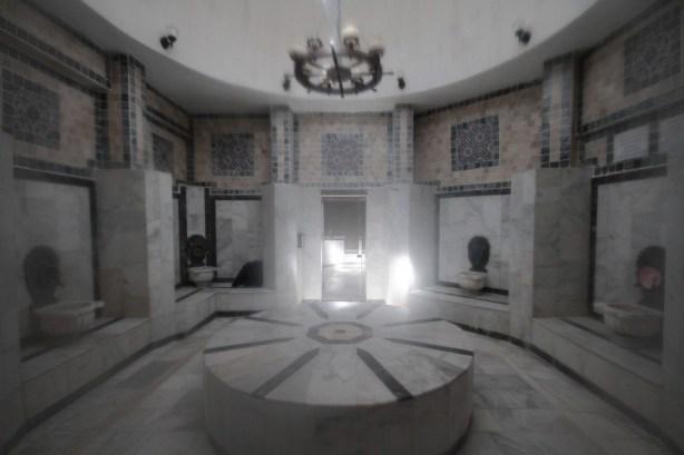 inside a hamam
