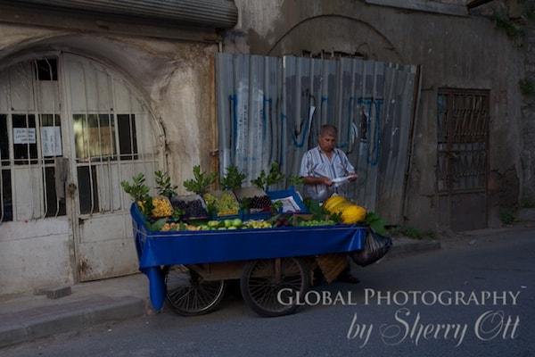 Balat street vendor