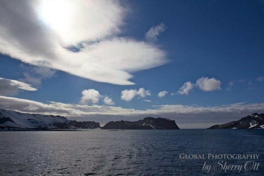 Cloudscapes Deception Island