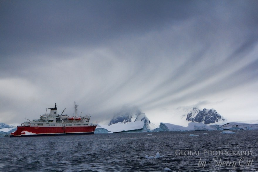 the ship I took to Antarctica with G Expedition