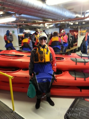 Me in kayaking gear