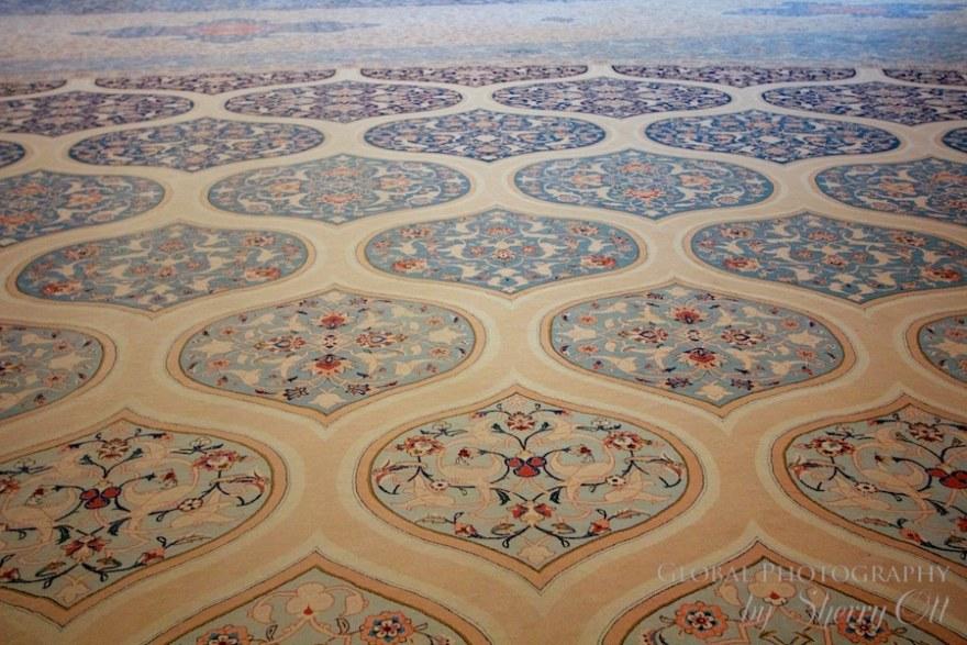 Mosque carpet oman