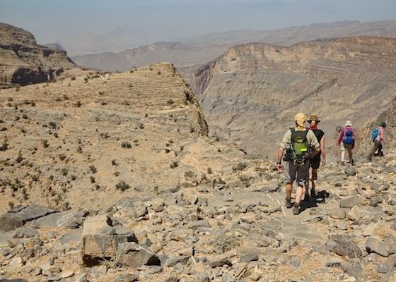 Jebel Akhdar hiking
