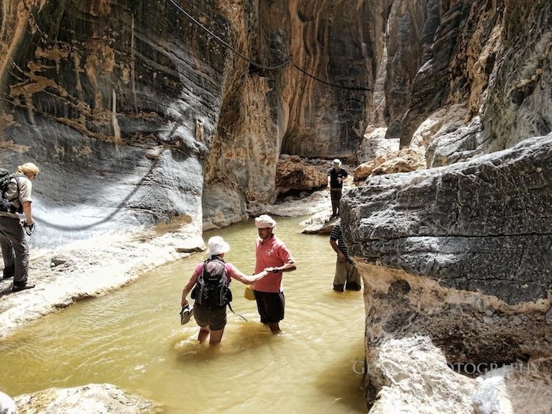 Trekking in Oman