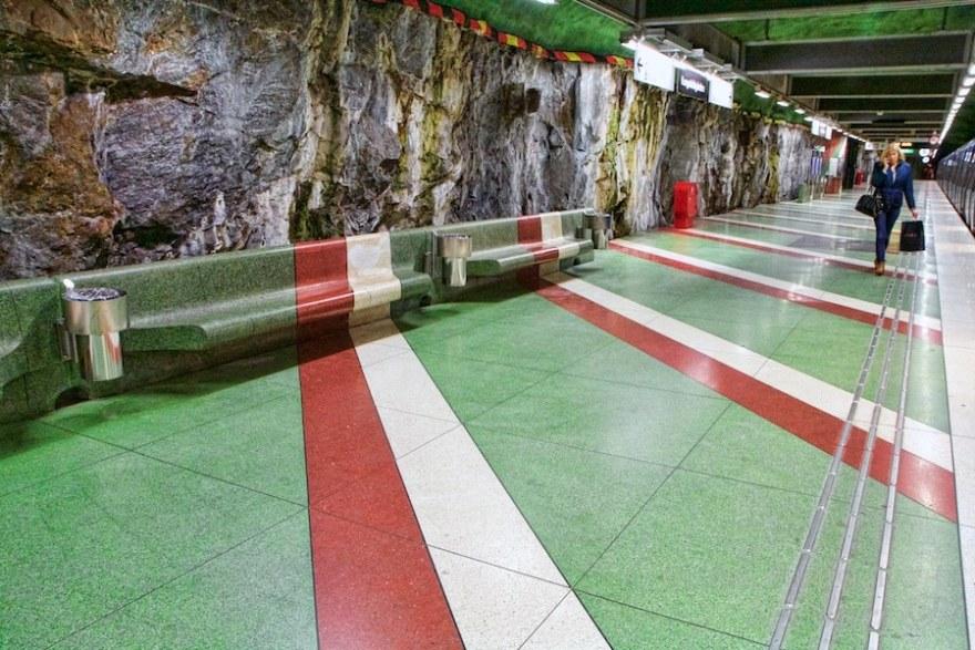 Stockholm subway design