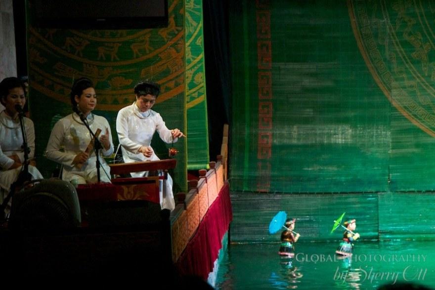 Water puppets Hanoi