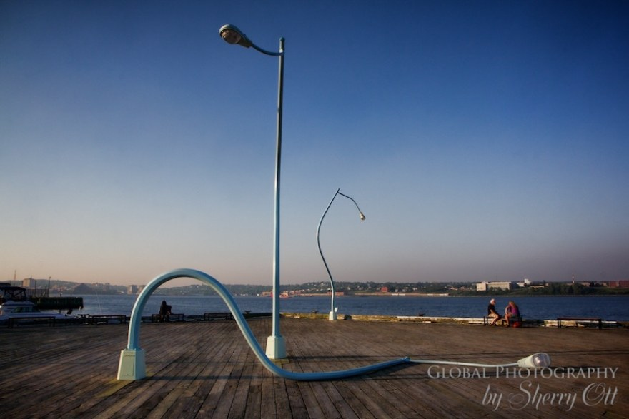 Halifax waterfront art
